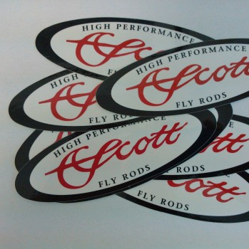 Scott Oval Sticker