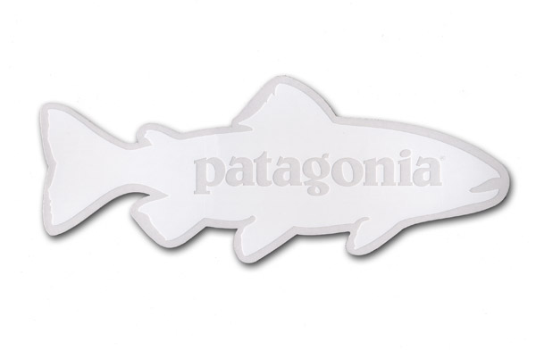 patagonia fish sticker duranglers fly fishing shop guides