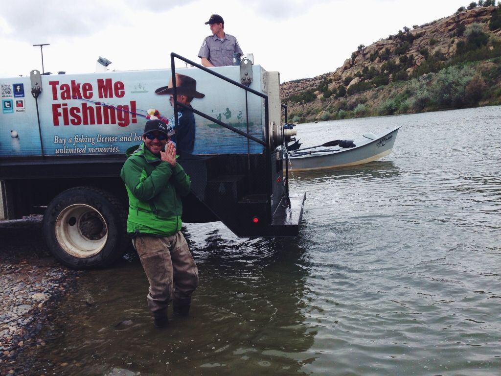 San Juan River Trout Stocking