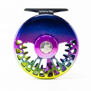 Abel Vaya Reel Northen Lights Fade From Duranglers Fly shop